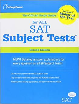 satsubject tests